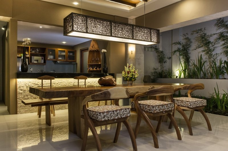 Kitchen and Dining Area - Villa Alin - Seminyak, Bali