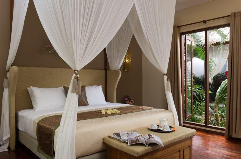 Bedroom with Garden View - Villa Alin - Seminyak, Bali