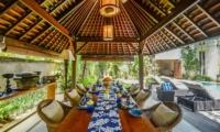 Indoor Dining Area - Villa Aliya - Seminyak, Bali