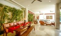 Living and Dining Area - Villa Aliya - Seminyak, Bali