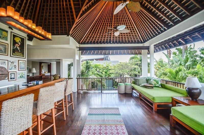 Lounge Area with Garden View - Villa Aliya - Seminyak, Bali
