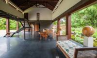 Seating Area with Up Stairs - Villa Amita - Canggu, Bali