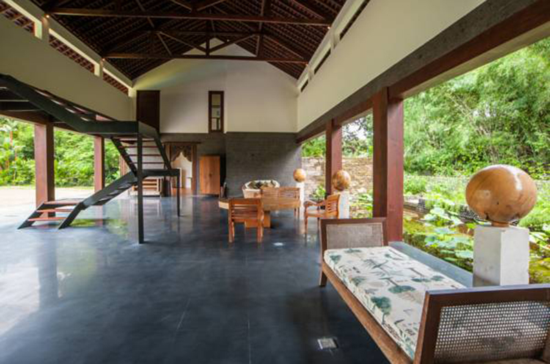 Seating Area with Up Stairs - Villa Amita - Canggu, Bali