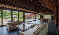 Lounge Area with Garden View - Villa Amita - Canggu, Bali