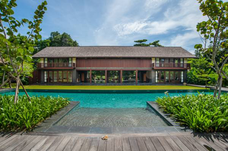 Pool Side - Villa Amita - Canggu, Bali
