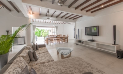 Living Area with TV – Villa Amore Mio – Seminyak, Bali