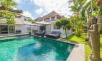 Pool Side - Villa Amore Mio - Seminyak, Bali