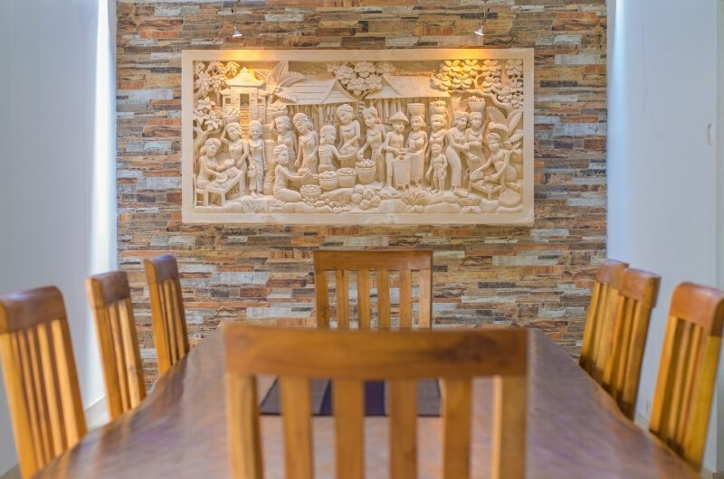 Dining Area - Villa Amore Mio - Seminyak, Bali