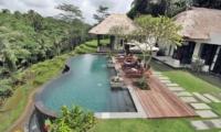 Gardens and Pool – Villa Amrita – Ubud, Bali