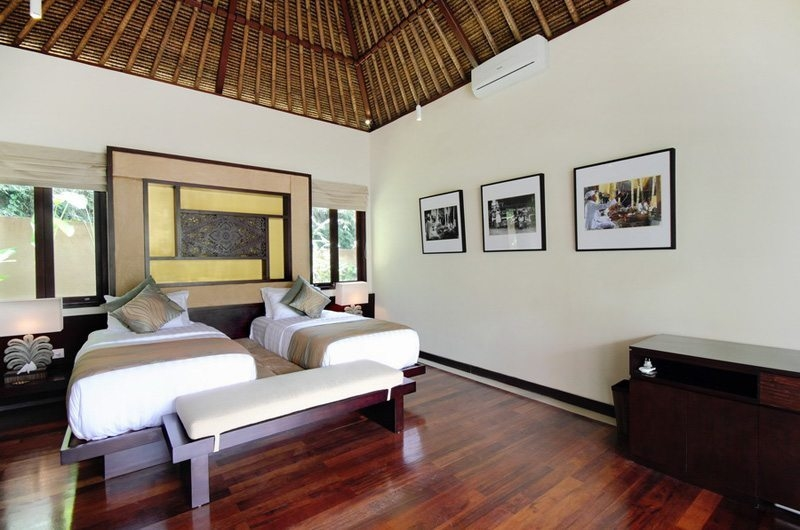 Spacious Twin Bedroom - Villa Amrita - Ubud, Bali