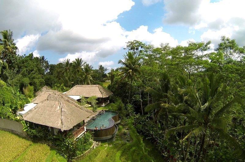 Gardens and Pool - Villa Amrita - Ubud, Bali