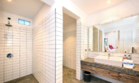 Bathroom with Shower - Villa Angel - Seminyak, Bali