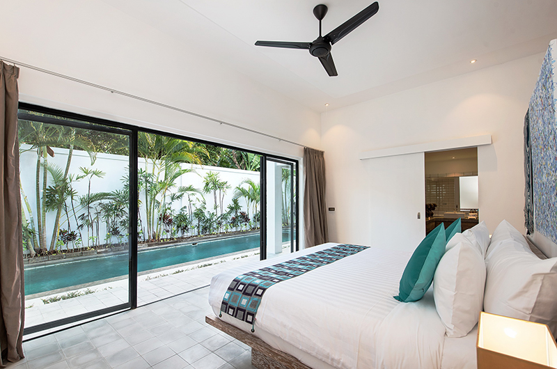 Bedroom with Pool View - Villa Angel - Seminyak, Bali