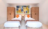Twin Bedroom - Villa Angel - Seminyak, Bali