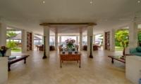 Spacious Living and Dining Area - Villa Angsoka - Candidasa, Bali