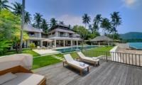 Sun Beds - Villa Angsoka - Candidasa, Bali