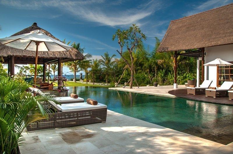 Reclining Sun Loungers - Villa Aparna - Lovina, Bali