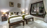 Twin Bedroom - Villa Aparna - Lovina, Bali