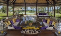 Living Area with Sea View - Villa Arika - Canggu, Bali