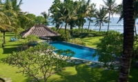 Gardens and Pool with Sea View - Villa Arika - Canggu, Bali
