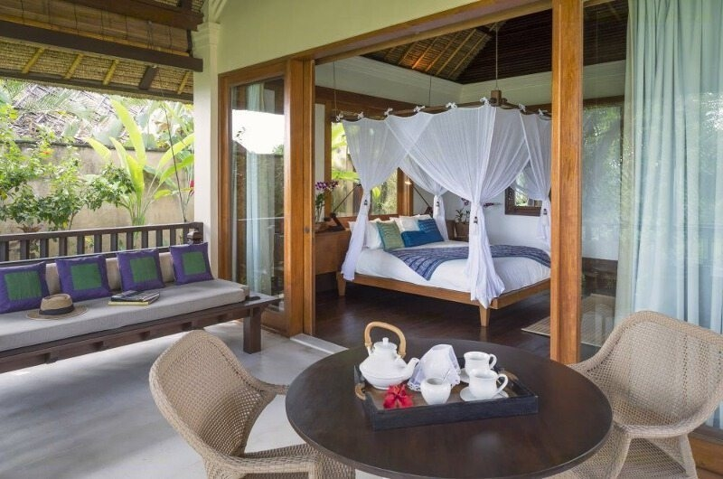 Bedroom and Balcony View - Villa Arika - Canggu, Bali