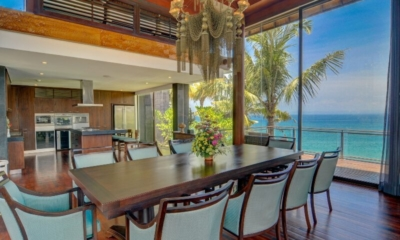 Dining Area with Sea View - Villa Aum - Uluwatu, Bali