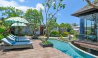 Sun Loungers - Villa Aum - Uluwatu, Bali