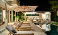 Sun Beds - Villa Bakung - Candidasa, Bali