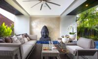 Lounge Area - Villa Balimu - Seminyak, Bali