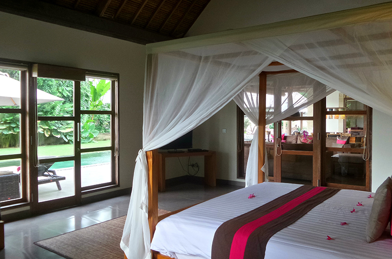 Four Poster Bed - Villa Bamboo - Ubud, Bali