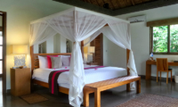 Bedroom with Study Table - Villa Bamboo - Ubud, Bali