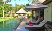 Sun Beds - Villa Bamboo - Ubud, Bali