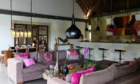 Living Area - Villa Bamboo - Ubud, Bali
