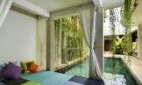 Pool Side - Villa Beji Seminyak - Seminyak, Bali