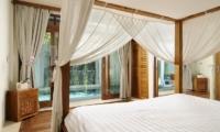 Bedroom with Pool View - Villa Beji Seminyak - Seminyak, Bali