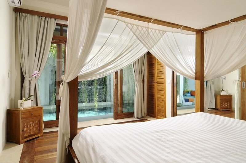 Bedroom with Pool View - Villa Beji Seminyak - Seminyak, Bali