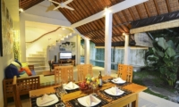 Living and Dining Area - Villa Beji Seminyak - Seminyak, Bali
