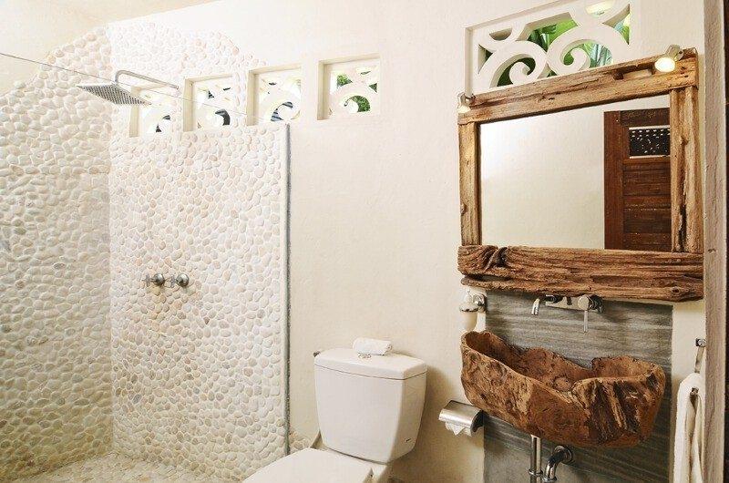 Bathroom with Shower - Villa Beji Seminyak - Seminyak, Bali