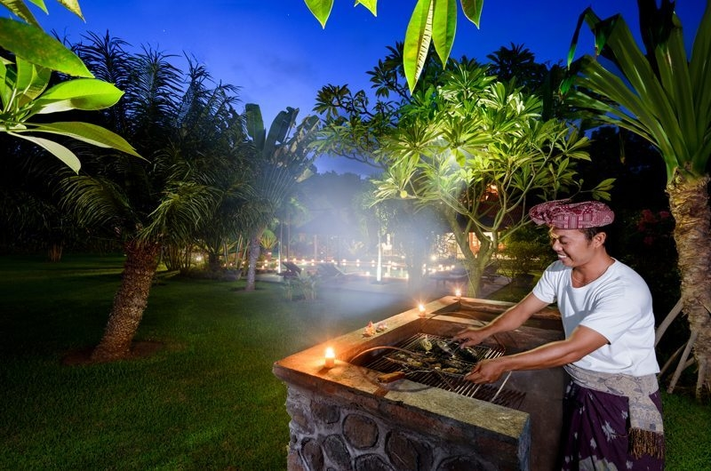 Outdoor Barbeque - Villa Beten Bukit - North Bali, Bali
