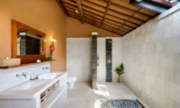 His and Hers Bathroom - Villa Beten Bukit - North Bali, Bali