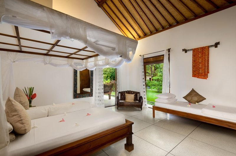 Twin Bedroom with Garden View - Villa Beten Bukit - North Bali, Bali