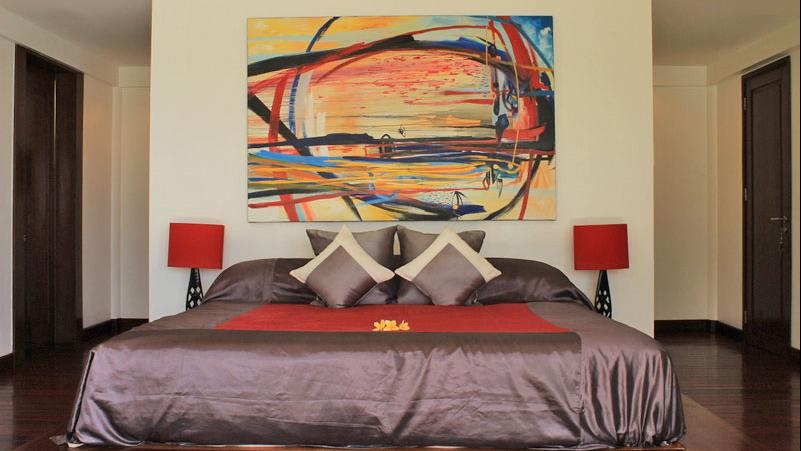 Bedroom - Villa Blanca - Candidasa, Bali