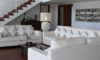 Lounge Area with Up Stairs - Villa Blanca - Candidasa, Bali