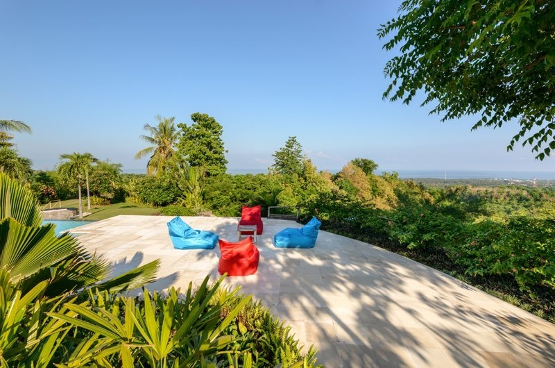 Pool Side Seating Area - Villa Bloom Bali - North Bali, Bali