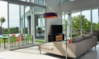 Indoor Seating Area with TV - Villa Blue Lagoon - Uluwatu, Bali