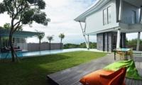 Pool Side Seating Area - Villa Blue Lagoon - Uluwatu, Bali