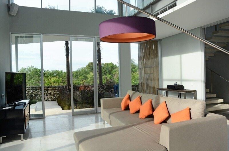 Lounge Area with TV - Villa Blue Lagoon - Uluwatu, Bali