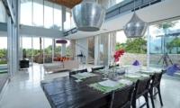 Indoor Dining Area - Villa Blue Lagoon - Uluwatu, Bali