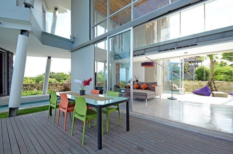 Dining Area - Villa Blue Lagoon - Uluwatu, Bali