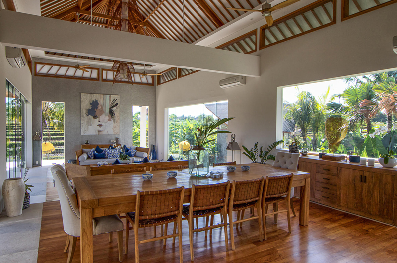 Living and Dining Area - Villa Breeze - Canggu , Bali